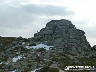 Ruta por el valle de Fuenfría, Siete Picos; camino de santiago en grupo